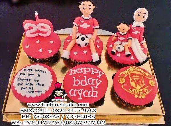 Cupcake Manchester United Untuk Suami Daerah Surabaya - Sidoarjo