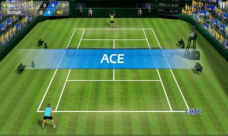 Fiske Tenisi - Tennis 3D Android Apk resimi 1