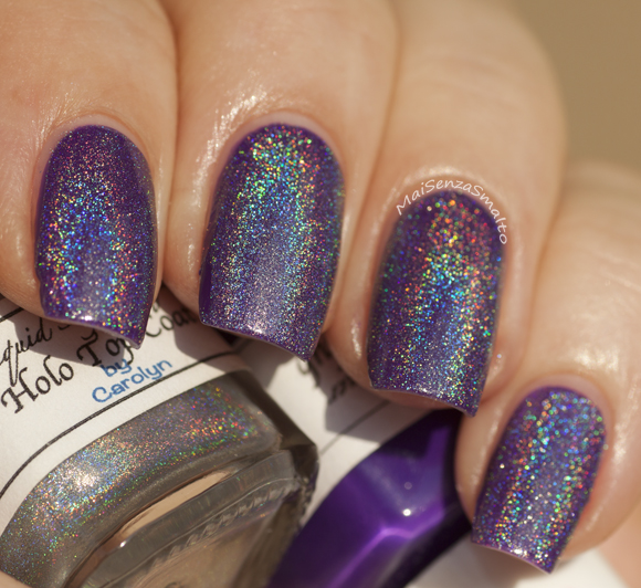 Liquid Sky Lacquer The Passion Club + Holo Top Coat