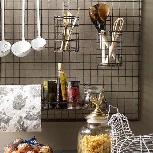 Rejilla para utensilios de cocina