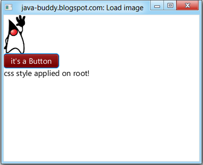 JavaFX 2.0: Apply css style