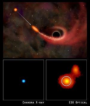 enigmas de agujeros negros