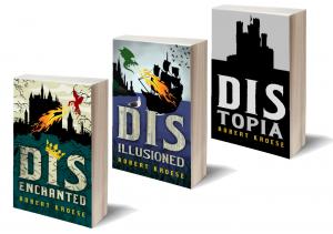 Kickstarter for humorous epic fantasy novels