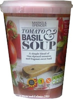 M&S Eat Well TOmato & Basil Soup