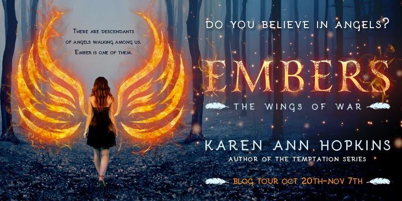 Kismet Book Tours --(Ember by Karen Ann Hopkins)