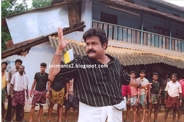 MOHANLAL  hot action images