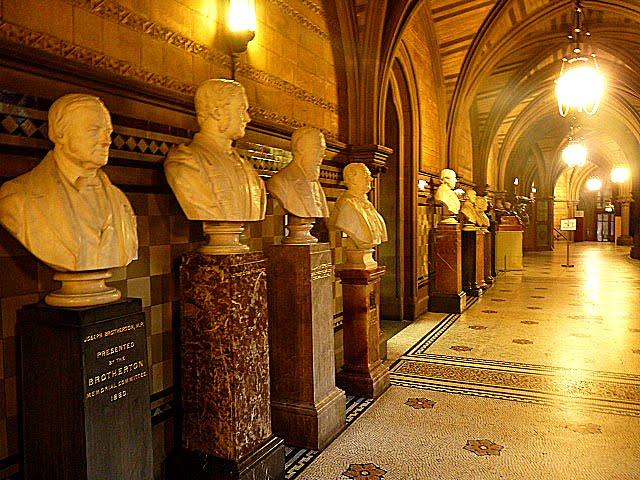 interior Ayuntamiento de Manchester