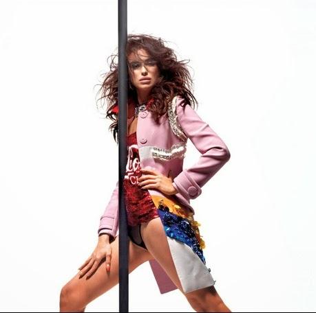Fotos de Irina Shayk com R.Kelly para a V Magazine