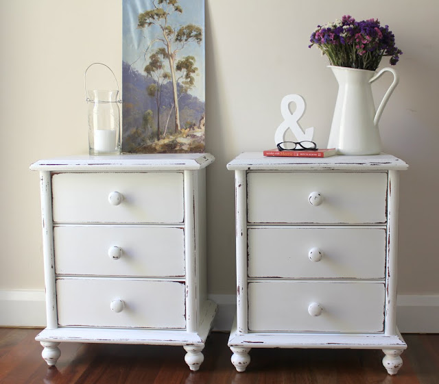 white bedside tables for sale sydney shabby chic