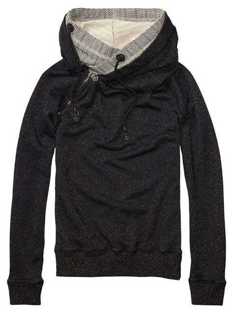 Gorgeous Black and Grey Home Alone North Face Hoodie