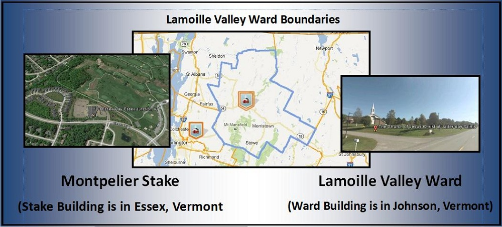 Lamoille Valley Ward Boundary