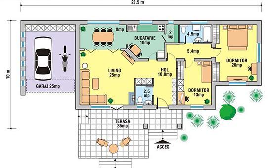 Planos de casas modelos y dise os de casas planos de for Planos de casas para construir gratis