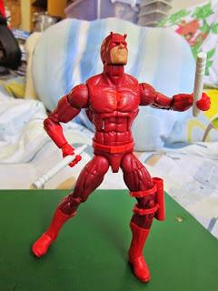 Matt Murdock, Daredevil, Marvel Legends, Netflix, movie, comics, Spider-man, Hobgoblin, BAF, Infinite series