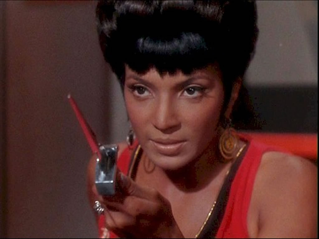 15. Lt. Uhura. What a doll. I wish they could've done more with her, ...