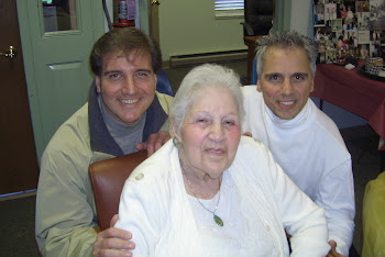 My cousin Jim Tacci, myself, and my Mom at Mom's 85th Birthday (11-07)