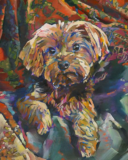 Just Animal Pet Art Paintings By Louisiana Artist Karen