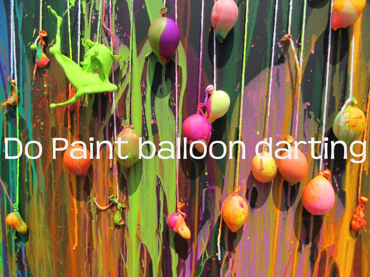 Paint Balloon darting