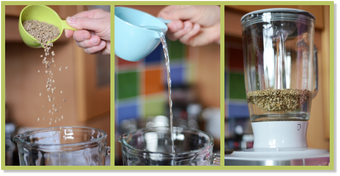 how to make hemp milk from whole hemp seeds