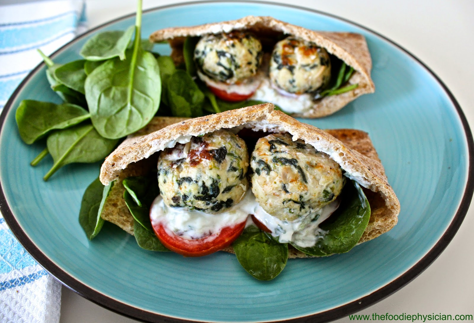 ... Foodie Physician: Cook Once, Eat Twice: Greek Meatball Pita Sandwiches
