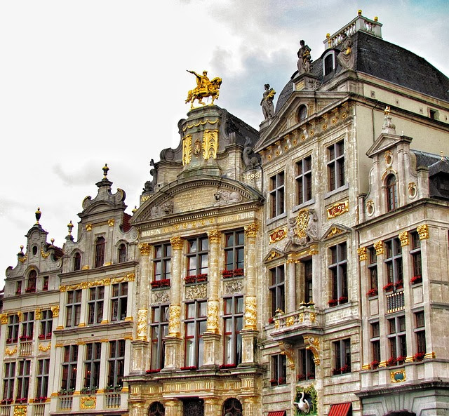 The grand palace in brussels a historical monument