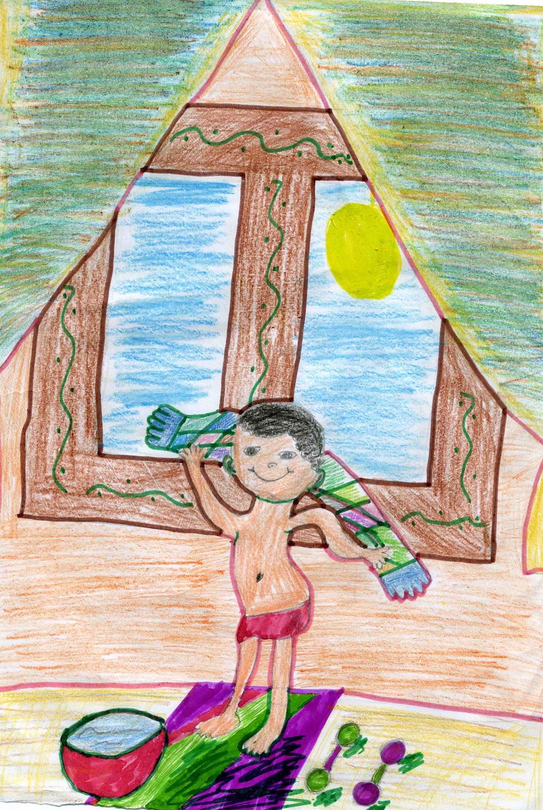 рисунки на тему здоровый образ жизни карандашом