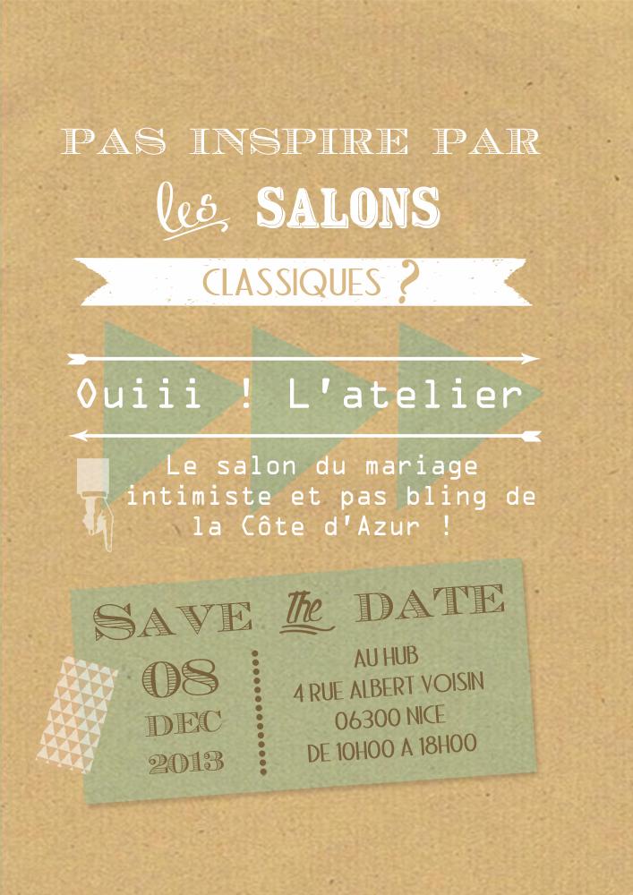 D 39 amour et de d co rendez vous ouiii l 39 atelier - Salon du mariage nice ...