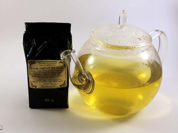 Zeit für Tee 1 - Birne+Joghurt mit Vitamin C