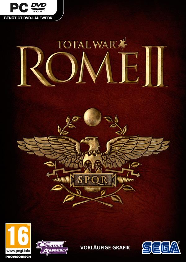 Total War: Rome II - Portada PC
