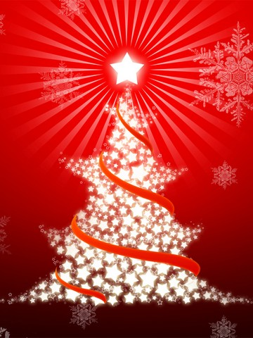 Christmas Wallpapers on Blackberry Torch 9800 Christmas Mobile Wallpaper