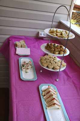 www.familyhomeblog.blogspot.com - Miss O's First Birthday Party - Savoury Food