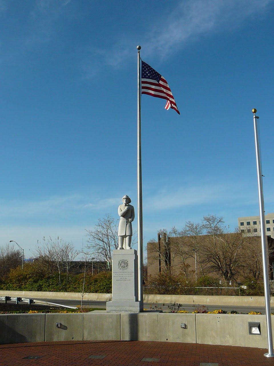 queen city tour  greater cincinnati firefighters memorial park