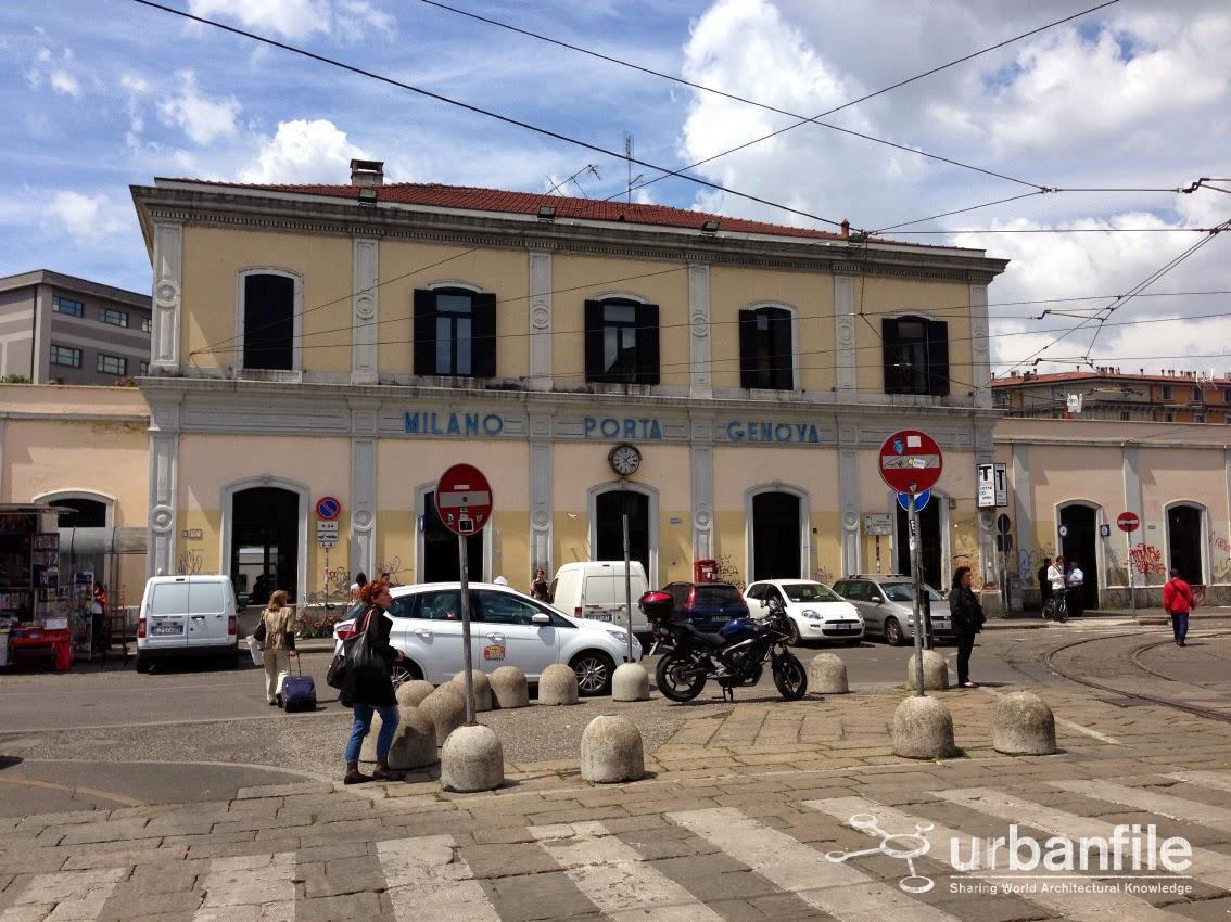 Urbanfile milano zona porta genova una stazione da - Carabinieri porta genova milano ...