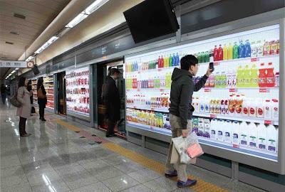 virtual store 4%5B2%5D أول متجر أفتراضي في العالم في كوريا