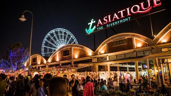 Membeli belah di Asiatique dlm rencana perjalanan drp Sahajidah Hai-O Marketing