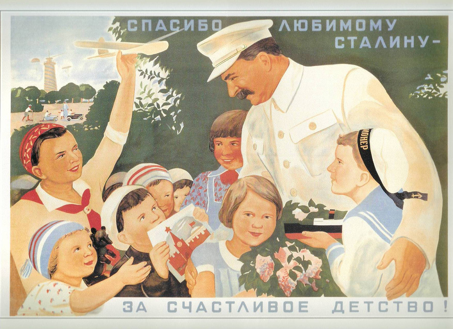 Ok  thanks for the history lesson  But  what does this have to do with    Joseph Stalin Propaganda Posters