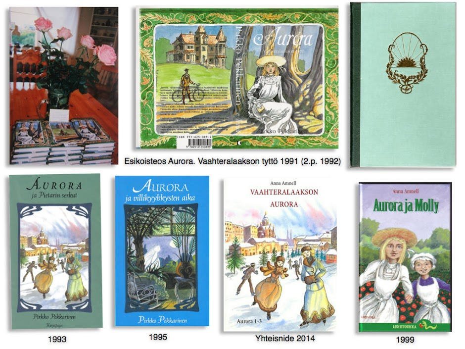 Anna Amnell: Aurora-kirjat