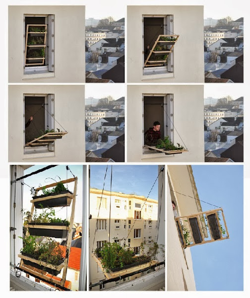 Diy terrace apartment garden my favorite things for Terrace in apartment