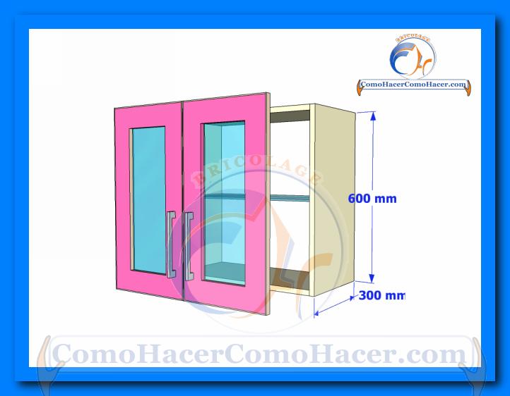Puertas de muebles de cocina web del bricolaje dise o diy for Puertas para muebles de cocina