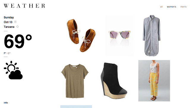 Wevther.com: What to Wear Fashion and Weather Forecast