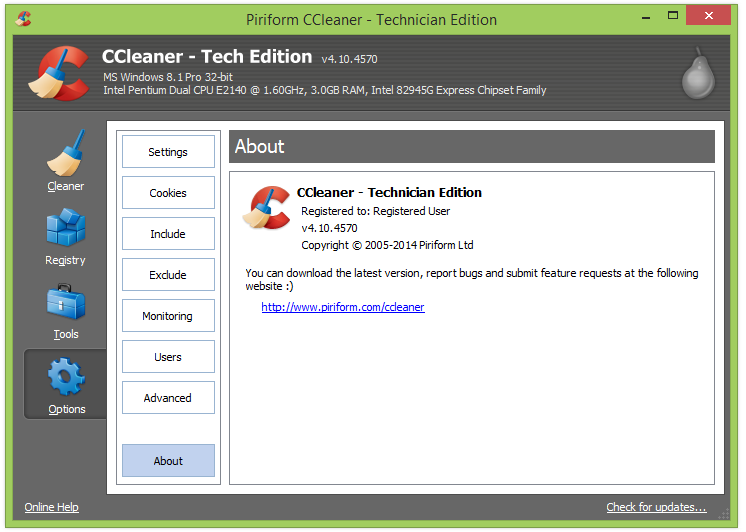 CCleaner Technician Edition v4.11.4619