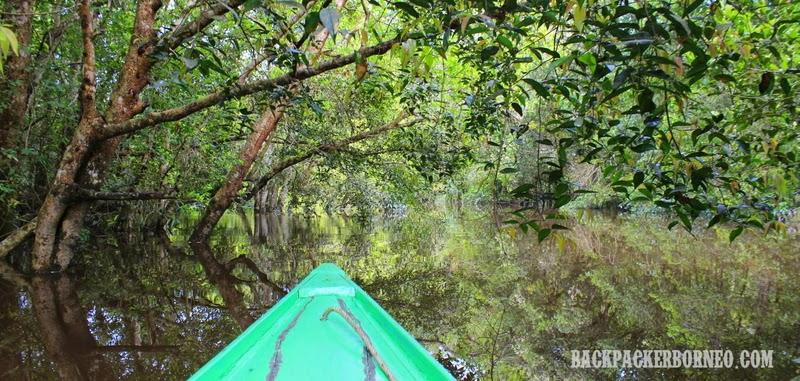 Menuju danau Tahai'i