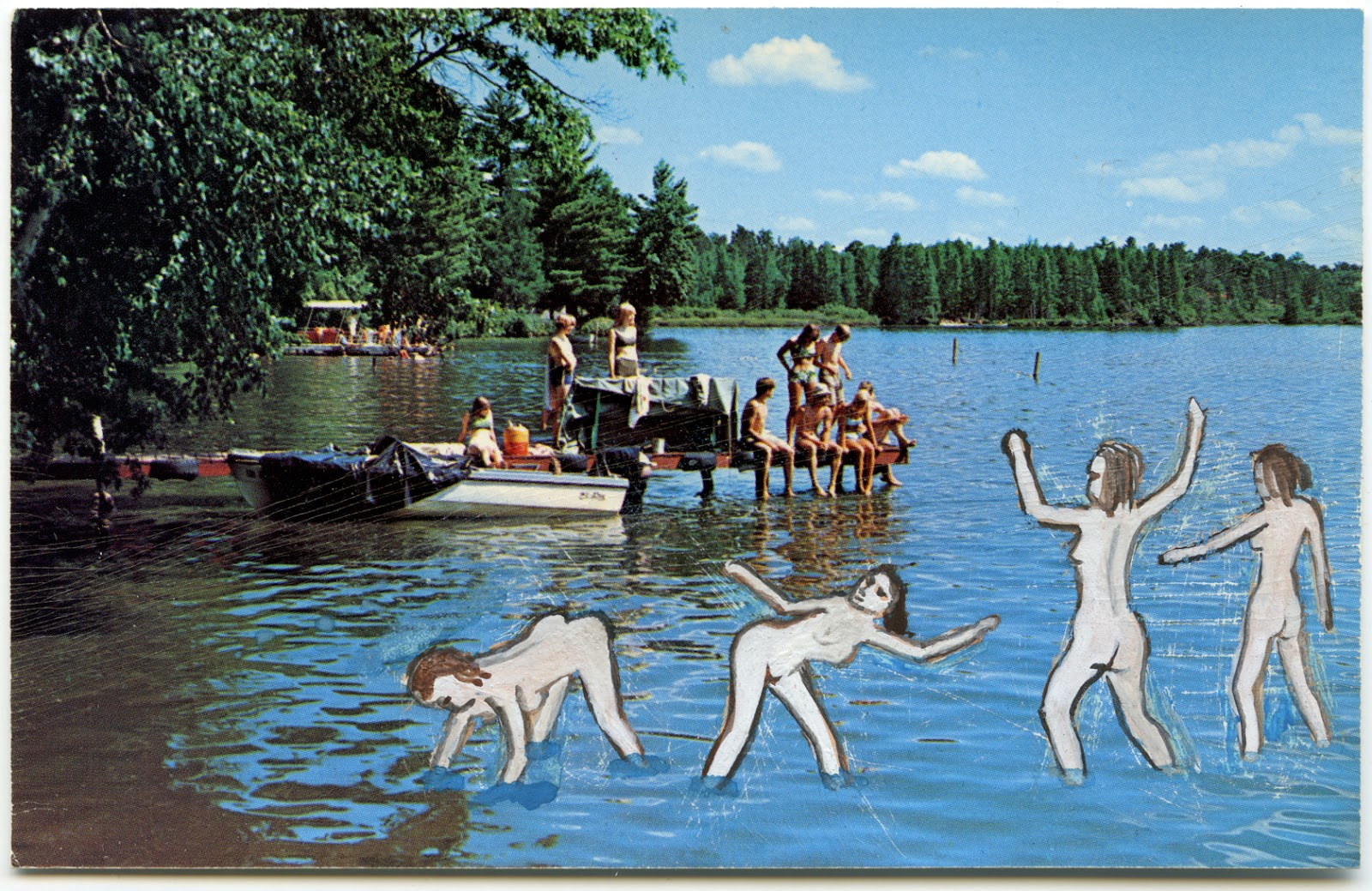 Nudist kids Pictures these militant nudists are taunting the lutheran bible camp kids.