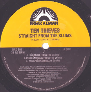 Ten Thieves – Straight From The Slums (VLS) (1995) (320 kbps)