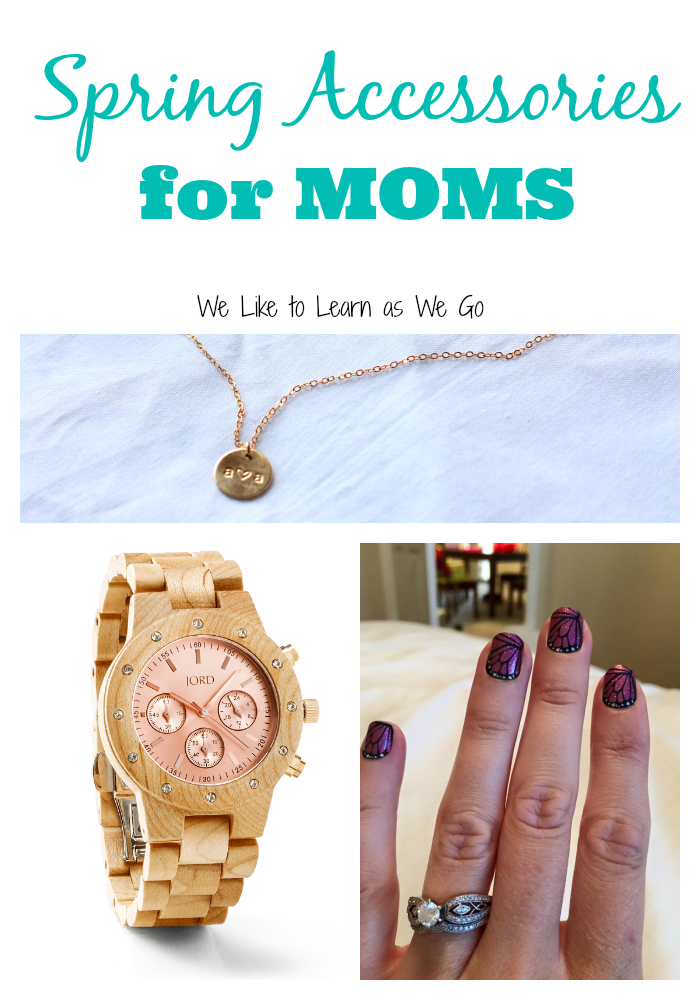 spring accessories for moms