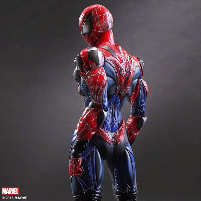square enix spider man figure
