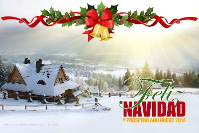 Postales de Navidad con mensajes para compartir 2014