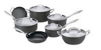 Cuisinart Nonstick Hard-Anodized Cookware Set