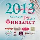 финалист скрапбукер 2013