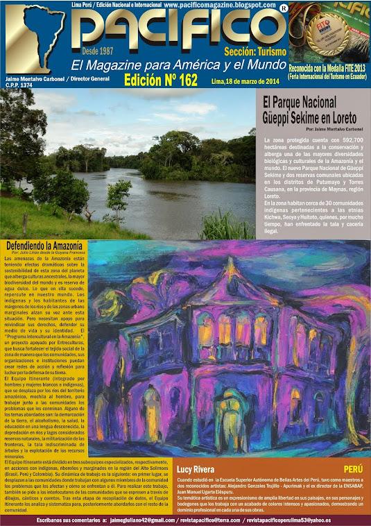 Revista Pacífico Nº 162 Turismo