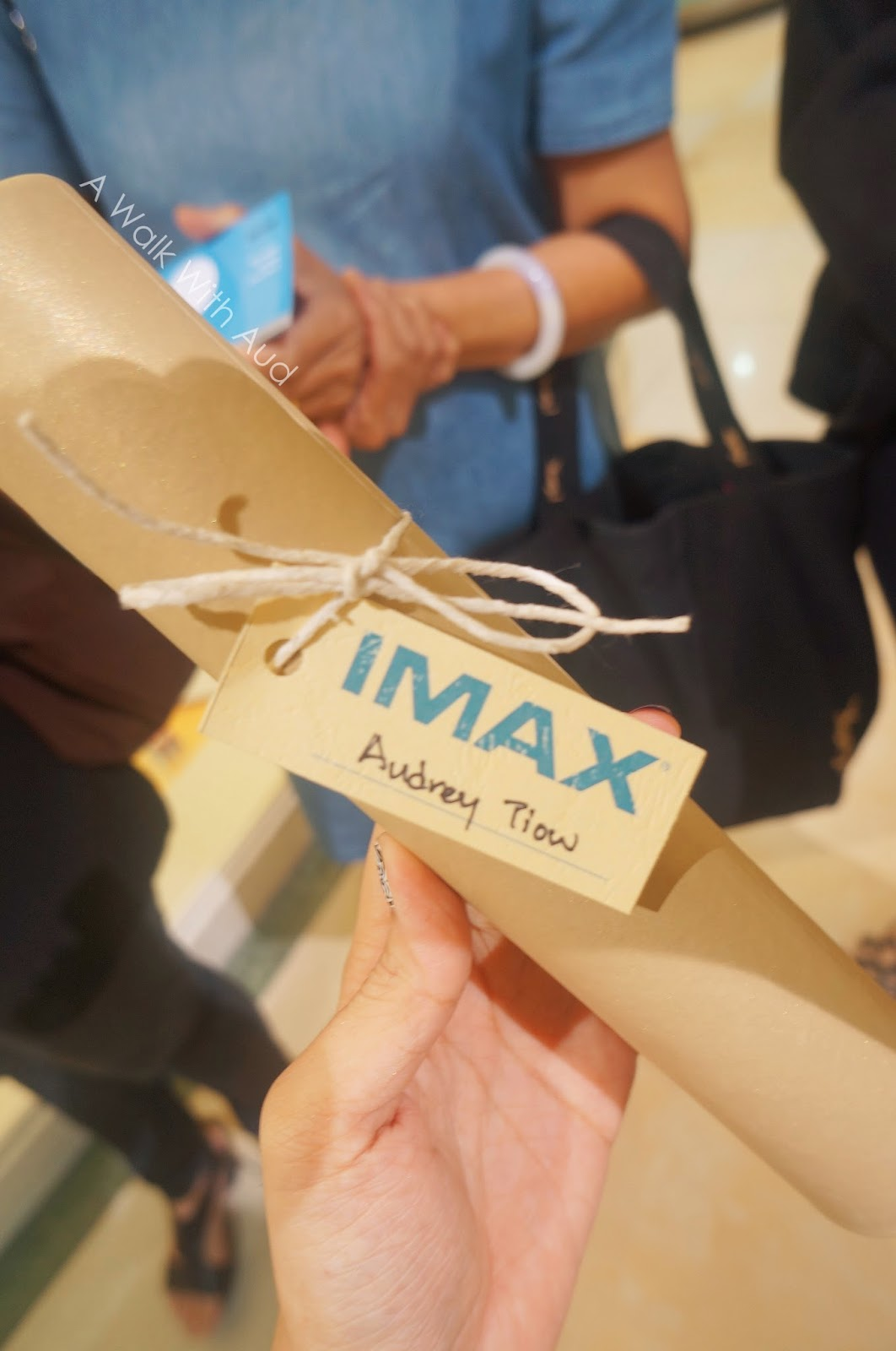 Lovely first imax brought to you by tgv johor